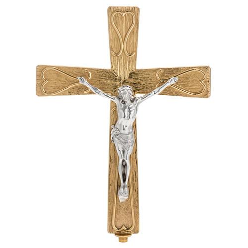 Croix métal décoré 1