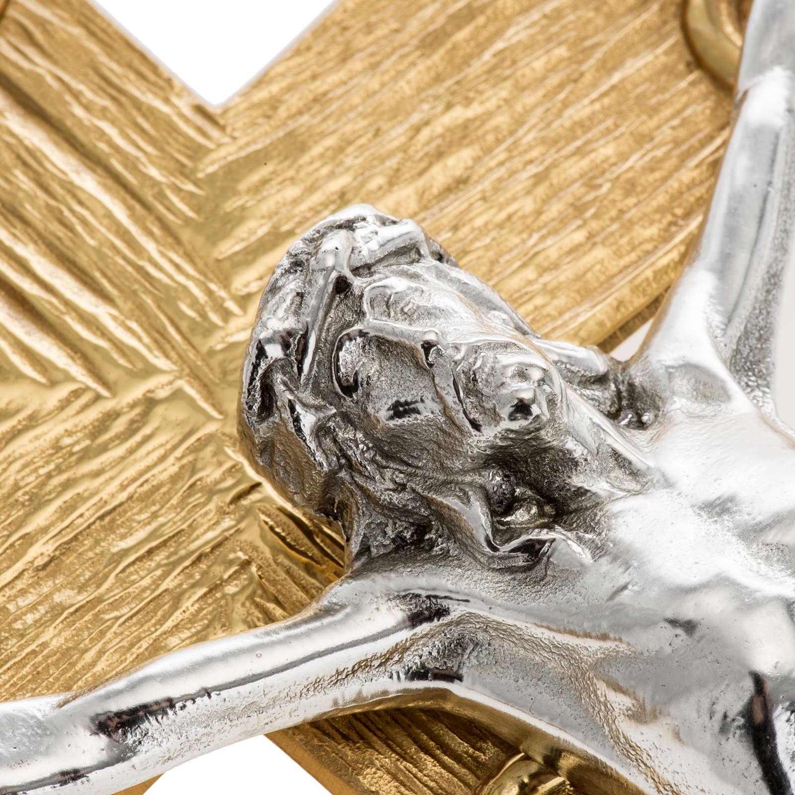 Croce astile metallo lavorato 4