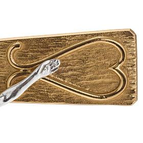 Krzyż procesyjny metal zdobiony s2