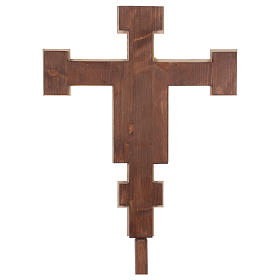 Processional coloured cross Cimabue 221 cm s6