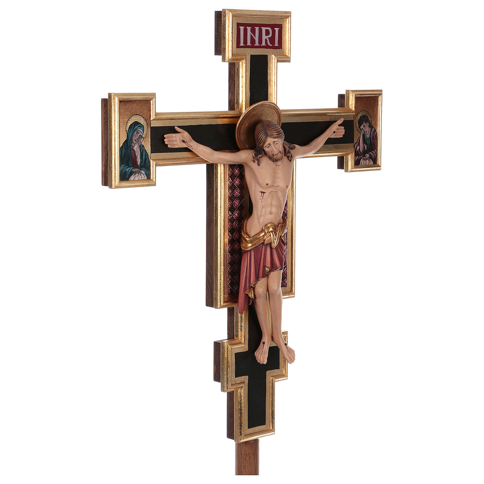 Cruz de procesión Cimabue coloreada 221 cm 4