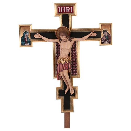 Croix de procession Cimabue colorée 221 cm 1