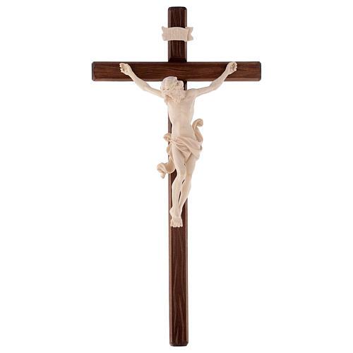 Cruz processional Leonardo madeira natural 5