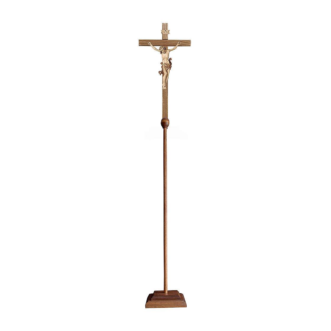 Cruz de procesión Leonardo bruñido 3 colores 4