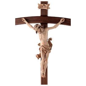 Cruz de procesión con base Leonardo cruz curva bruñido 3 colores s2