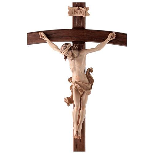 Cruz de procesión con base Leonardo cruz curva bruñido 3 colores 2