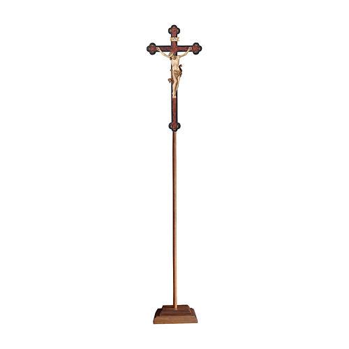 Croce processionale Leonardo croce barocca antica brunita 3 colori 1