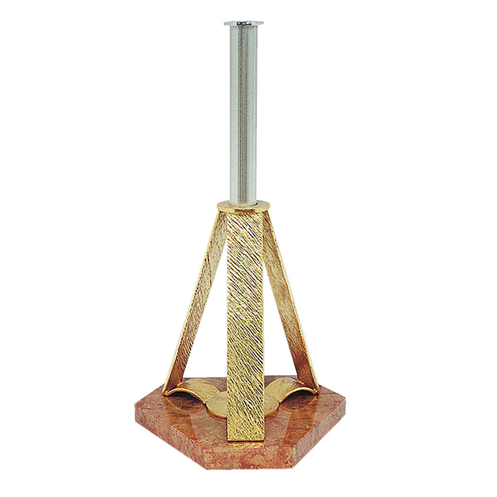 Base para cruz procesional pirámide 4