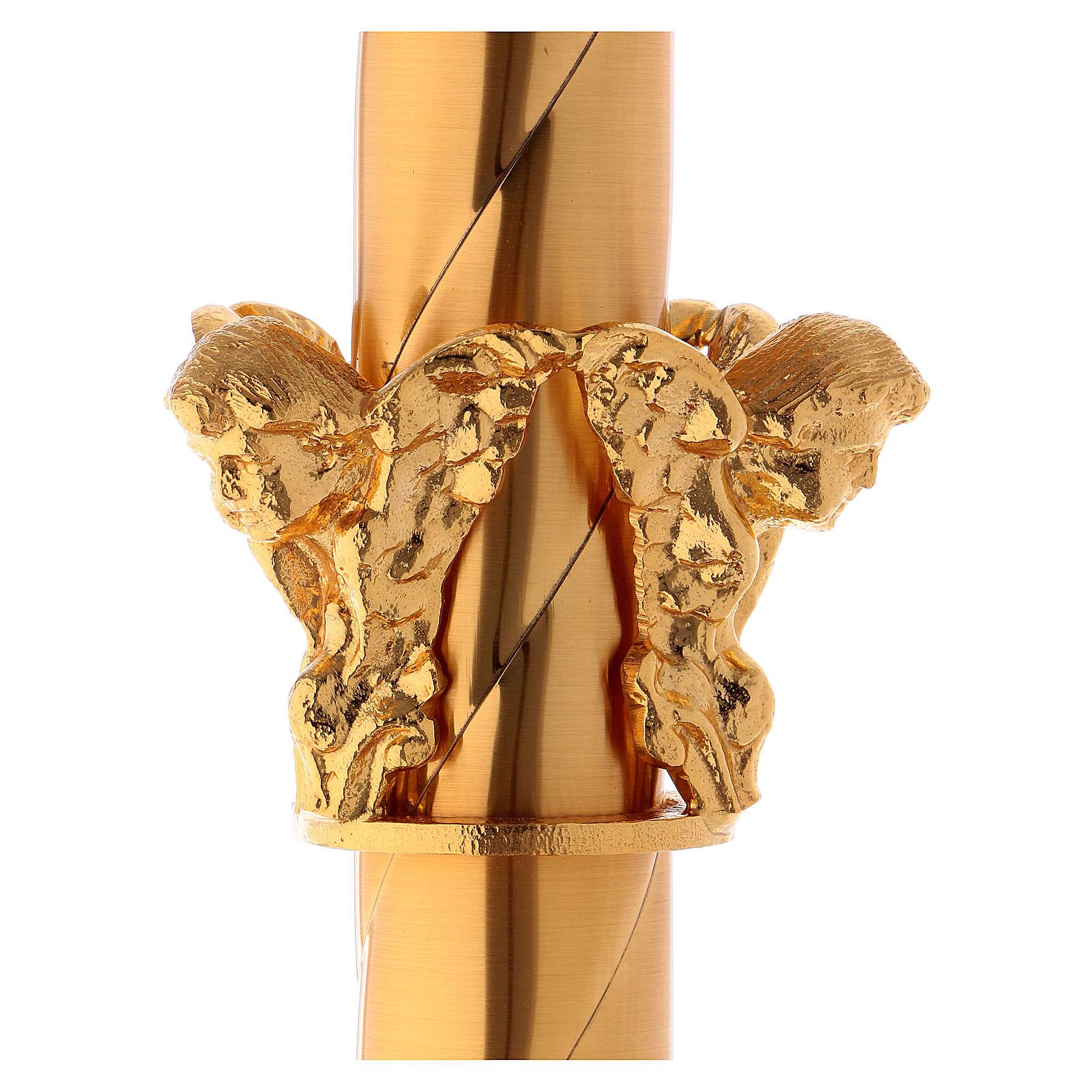 Base para cruz procesional con amorcillos 4