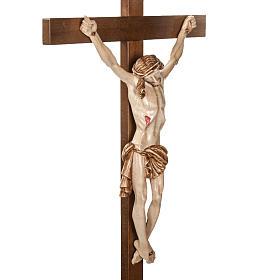 Croce astile legno di noce s4