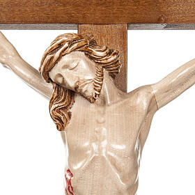 Croce astile legno di noce s5