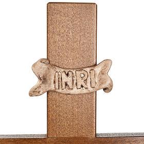 Croce astile legno di noce s6