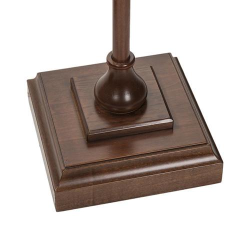 Croce astile legno di noce 2