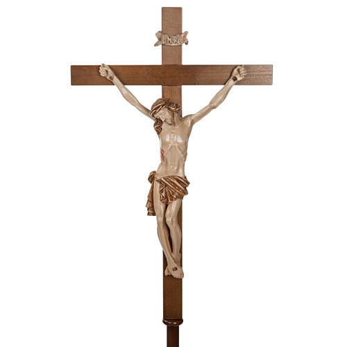Croce astile legno di noce 3