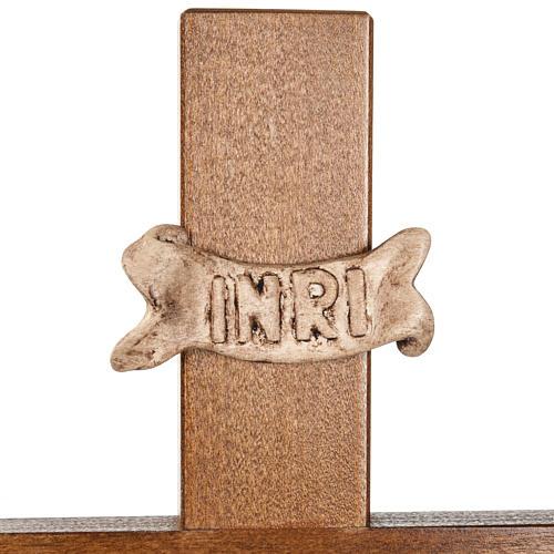 Croce astile legno di noce 6