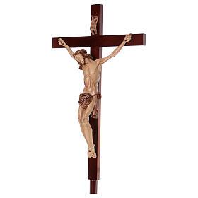 Krzyż procesyjny drewno orzech włoski s3