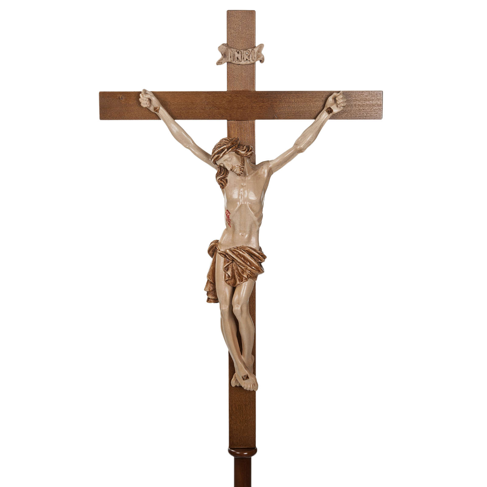 Processional Cross In Walnut Wood