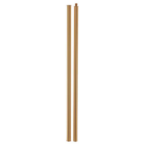 Cruz procesional latón fundido 54x35 cm 10