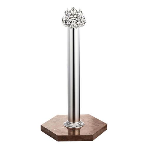 Base per croce astile marmo rosso di Verona 1