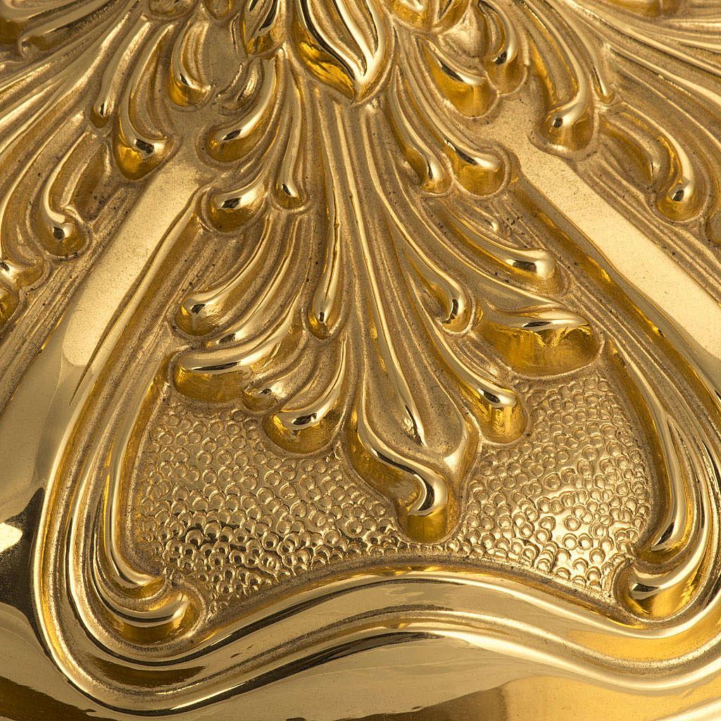 Base portacroce astile in ottone mod. barocco 4