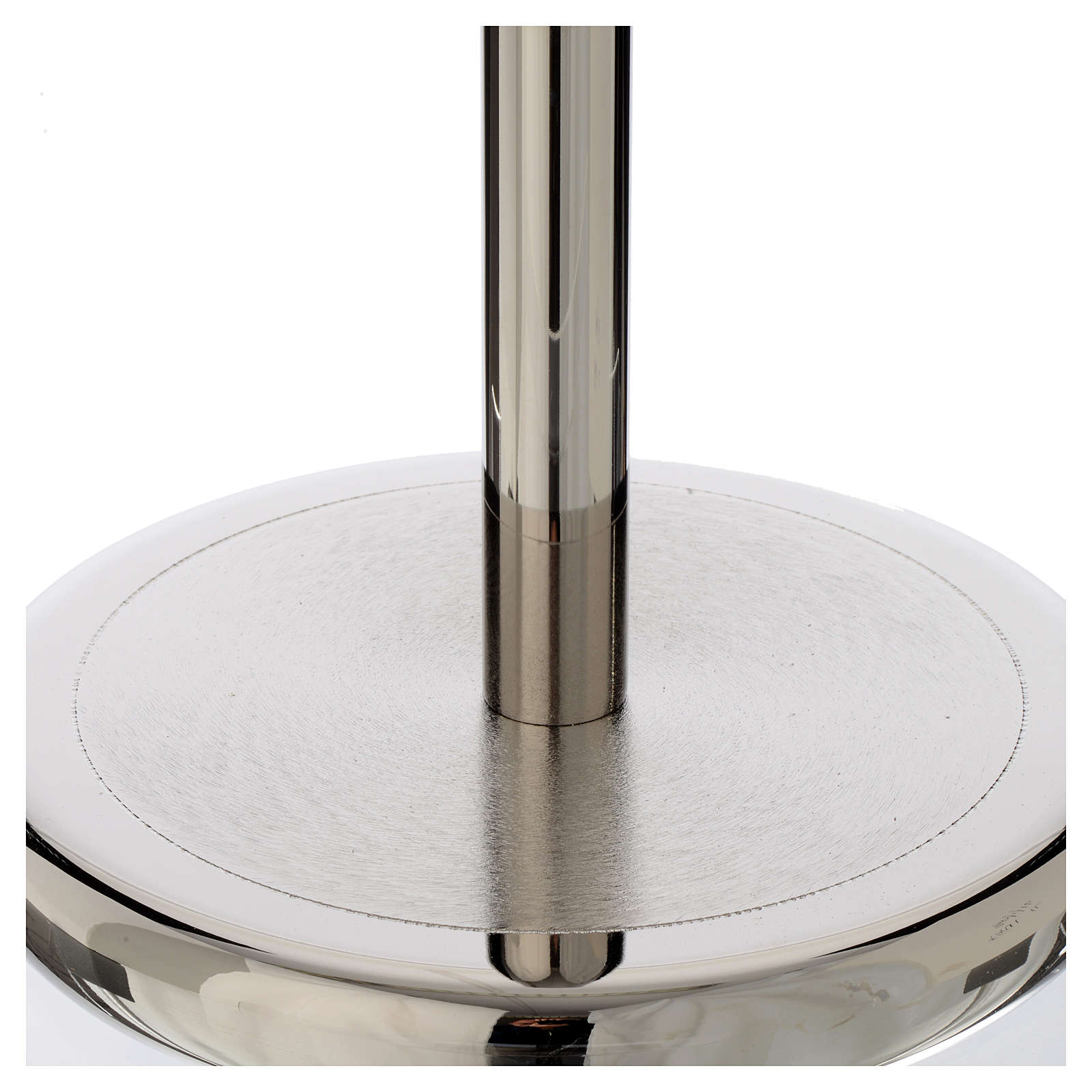 Base per croce astile ottone nikelato lucido 4