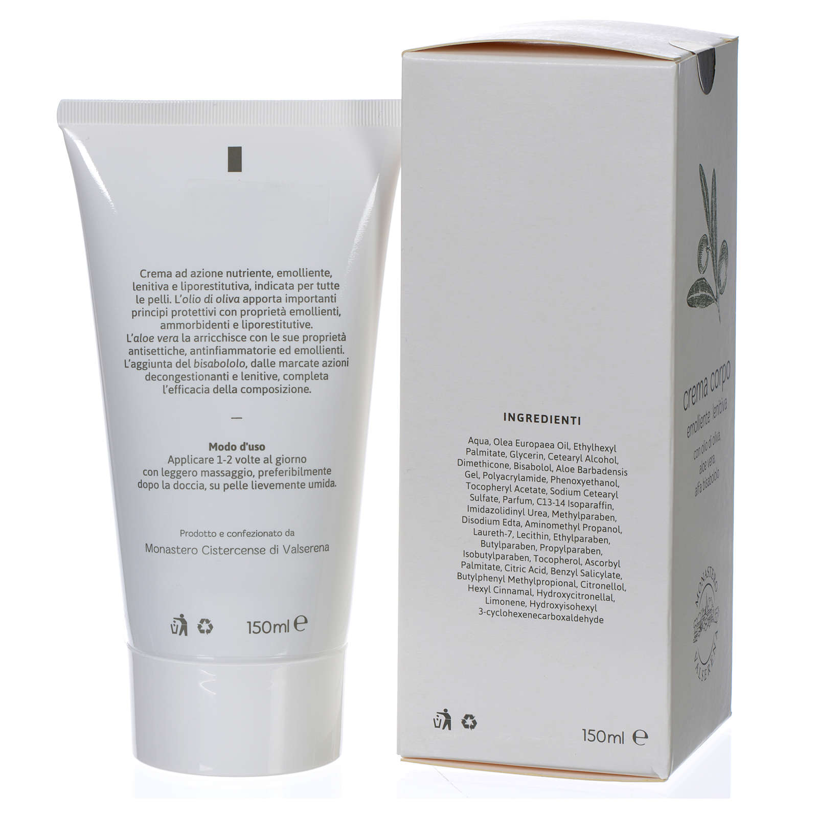 Olive oil body lotion (150 ml) 4