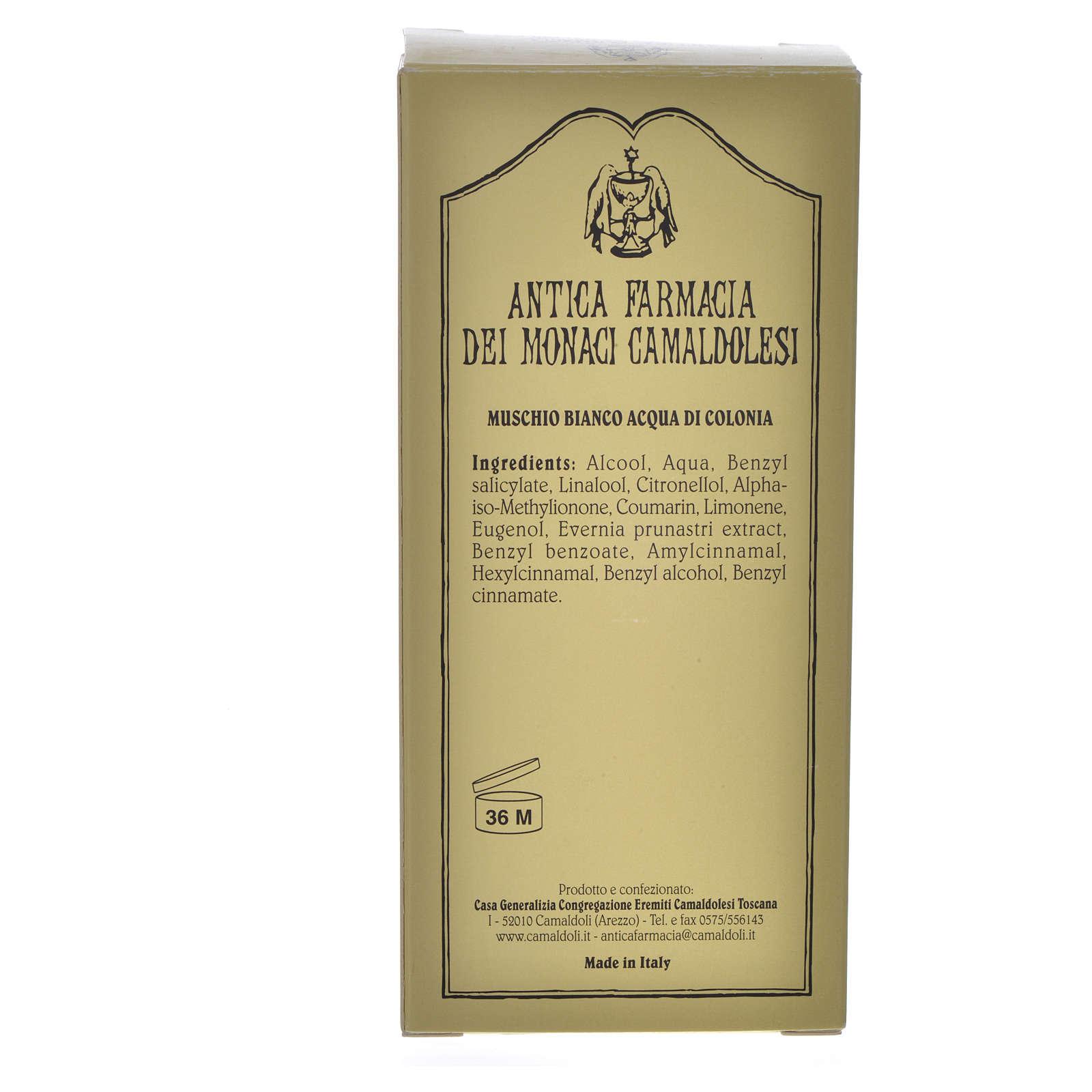 Muschio bianco acqua di colonia Camaldoli 100 ml 4