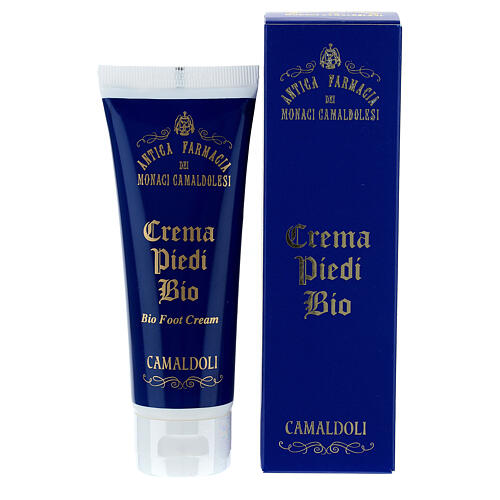 Crema Piedi rinfrescante Bio BDIH 75 ml Camaldoli 1