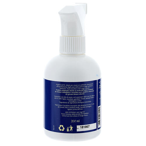 Spray Acari 200 ml Camaldoli per ambienti tappezzerie 2