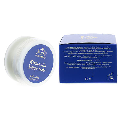 Crema alla Pappa Reale Naturale 50 ml Camaldoli 3