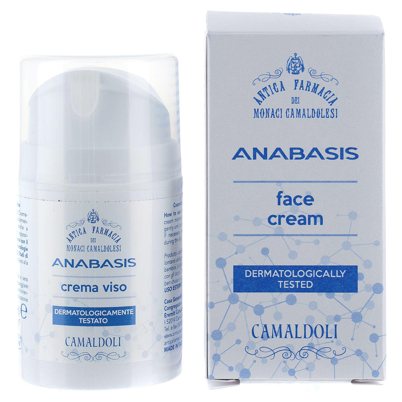 Crema viso 50 ml Camaldoli linea Anabasis 4