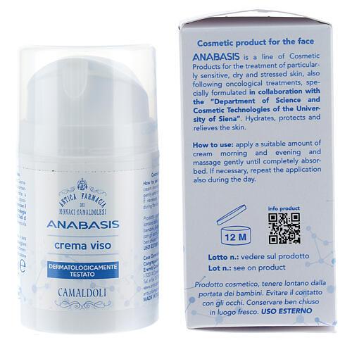 Crema viso 50 ml Camaldoli linea Anabasis 5