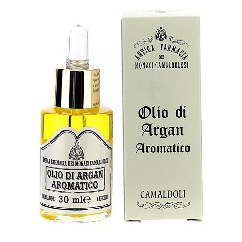 Aromatic Argan oil, skin oil, Camaldoli 1