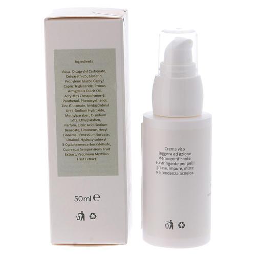 Crème visage dermopurifiante, 50 ml Valserena 2