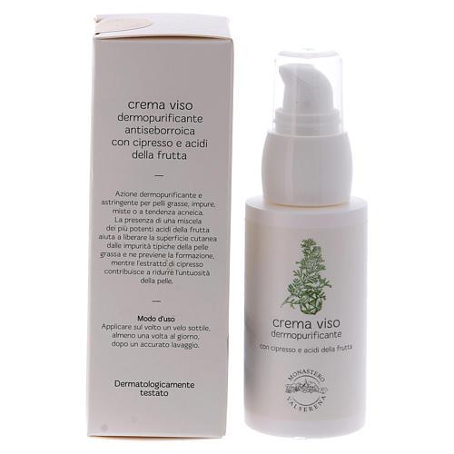 Skin purifying face cream 50ml  Valserena 3