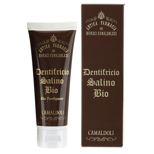 Dentifrice salin BIO BDIH 60 ml Camaldoli 1