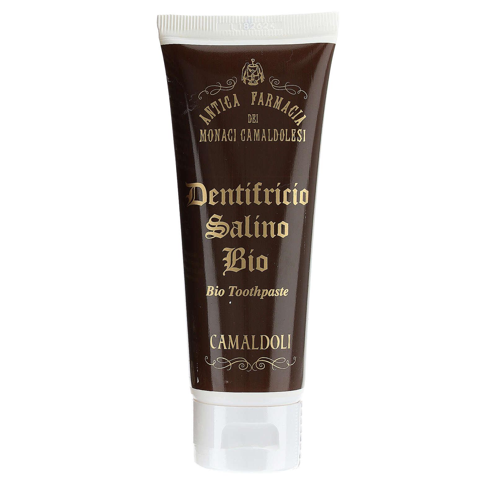 Dentifricio salino Bio BDIH 60 ml Camaldoli 4