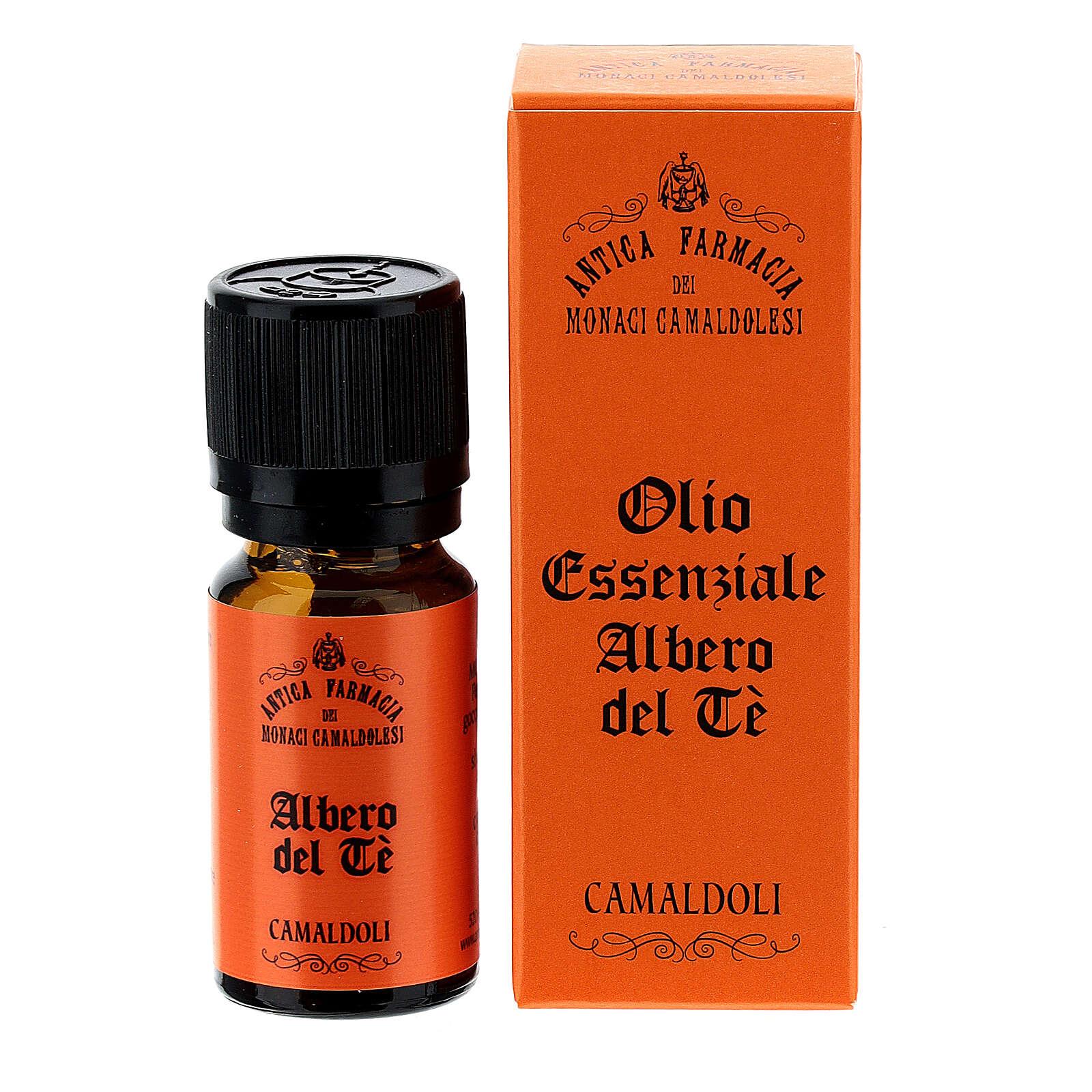 Olio Essenziale Albero del Tè 10 ml Camaldoli 4