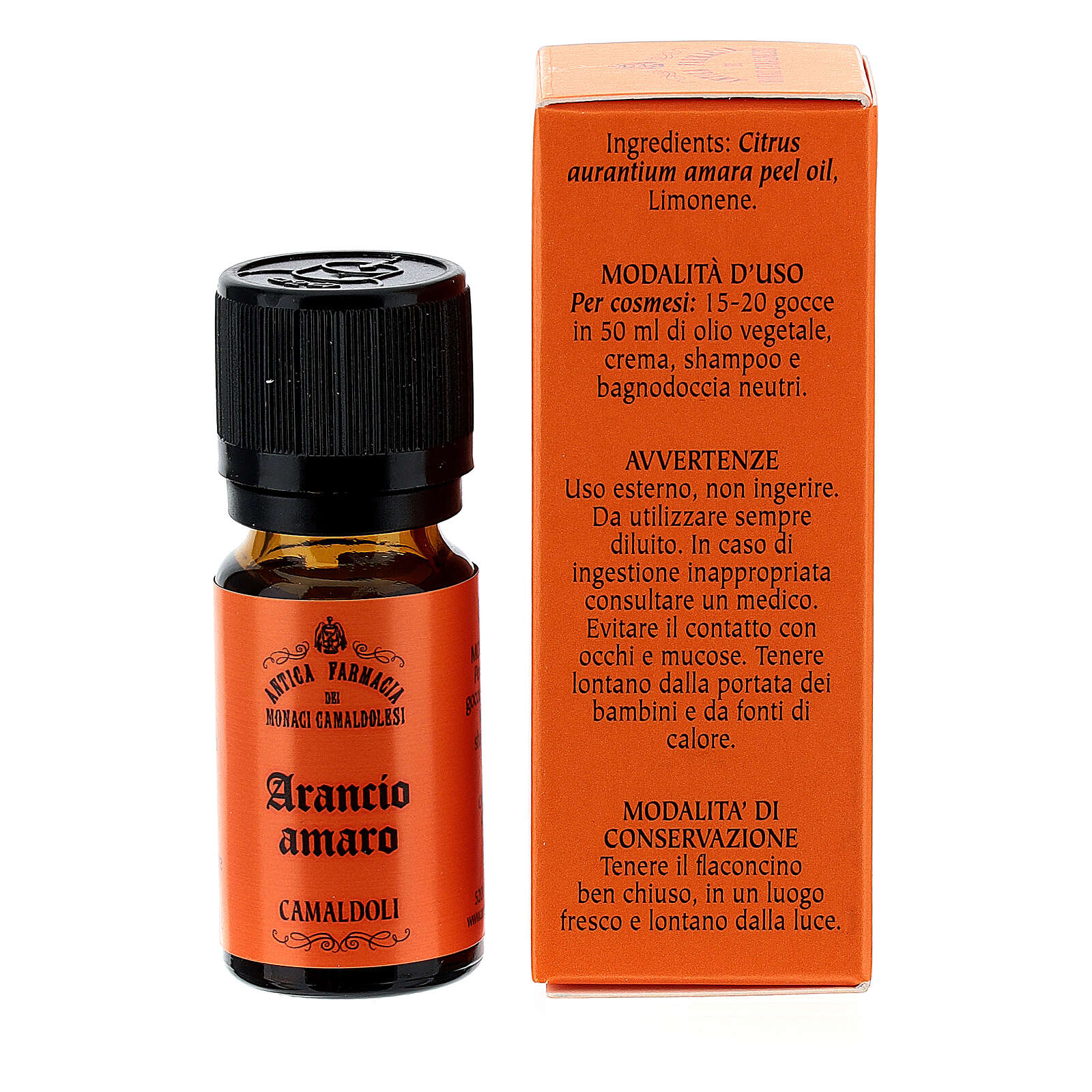 Olio Essenziale Arancio Amaro 10 ml Camaldoli 4