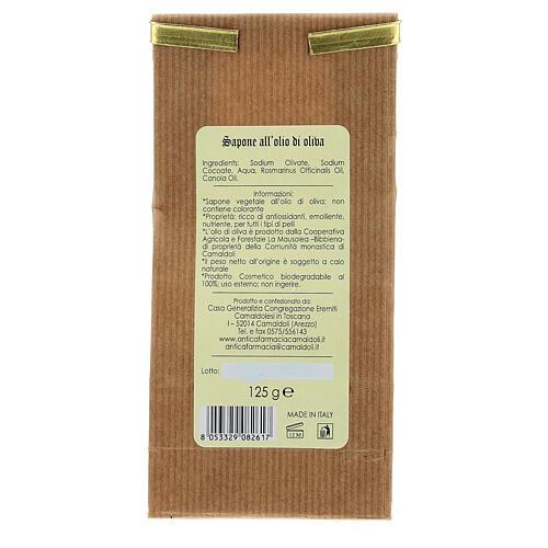 Sapone Naturale all'Olio di Oliva 125 gr Camaldoli 4