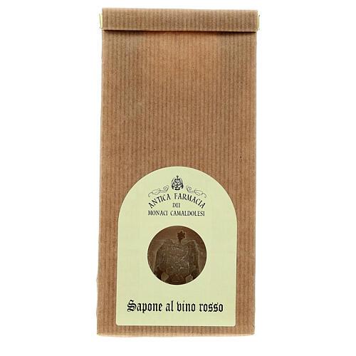 Natural Red Wine Soap - Antioxidant 125 gr Camaldoli 1