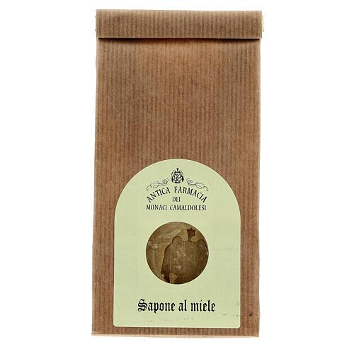 Natural Honey Soap - Nourishing 125 gr Camaldoli 1