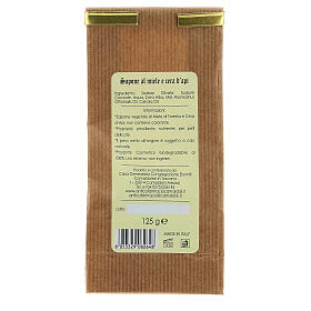 Natural Soap with Honey and Beeswax - Delicate 125 gr Camaldoli s4