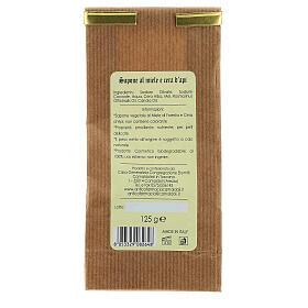 Savon Naturel au Miel et Cire d'Abeille 125 gr Camaldoli s4