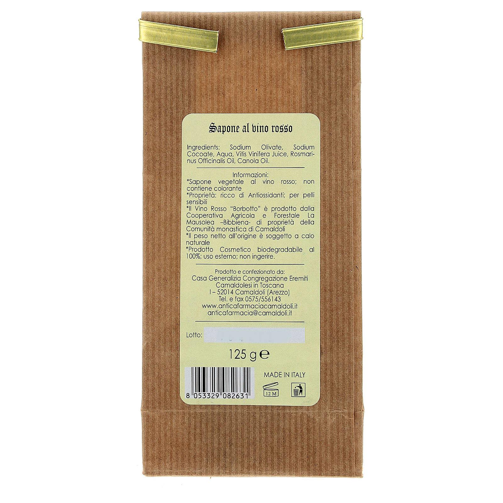Sapone Naturale al Miele e Cera d'Api 125 gr Camaldoli 4