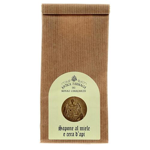 Sapone Naturale al Miele e Cera d'Api 125 gr Camaldoli 1