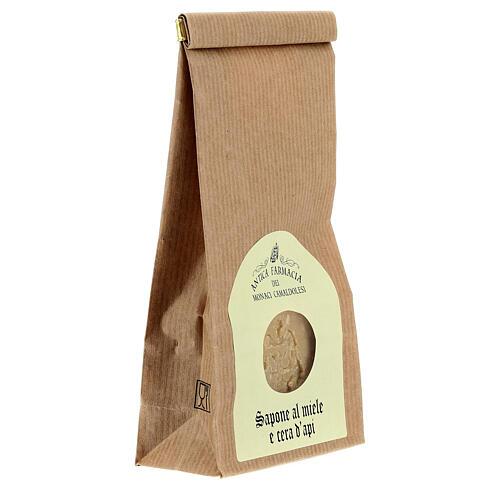 Sapone Naturale al Miele e Cera d'Api 125 gr Camaldoli 3