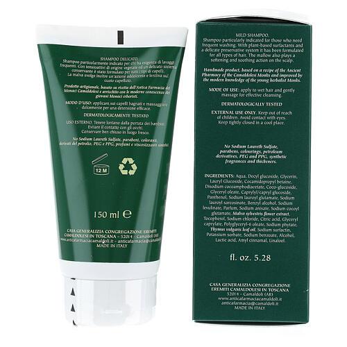 Natural Delicate Frequent Use Shampoo 150 ml Camaldoli 4