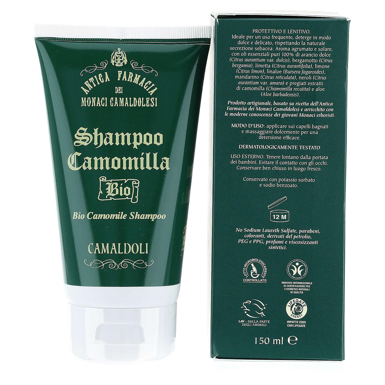 Shampoing Camomille Bio BDIH 150 ml Camaldoli 4