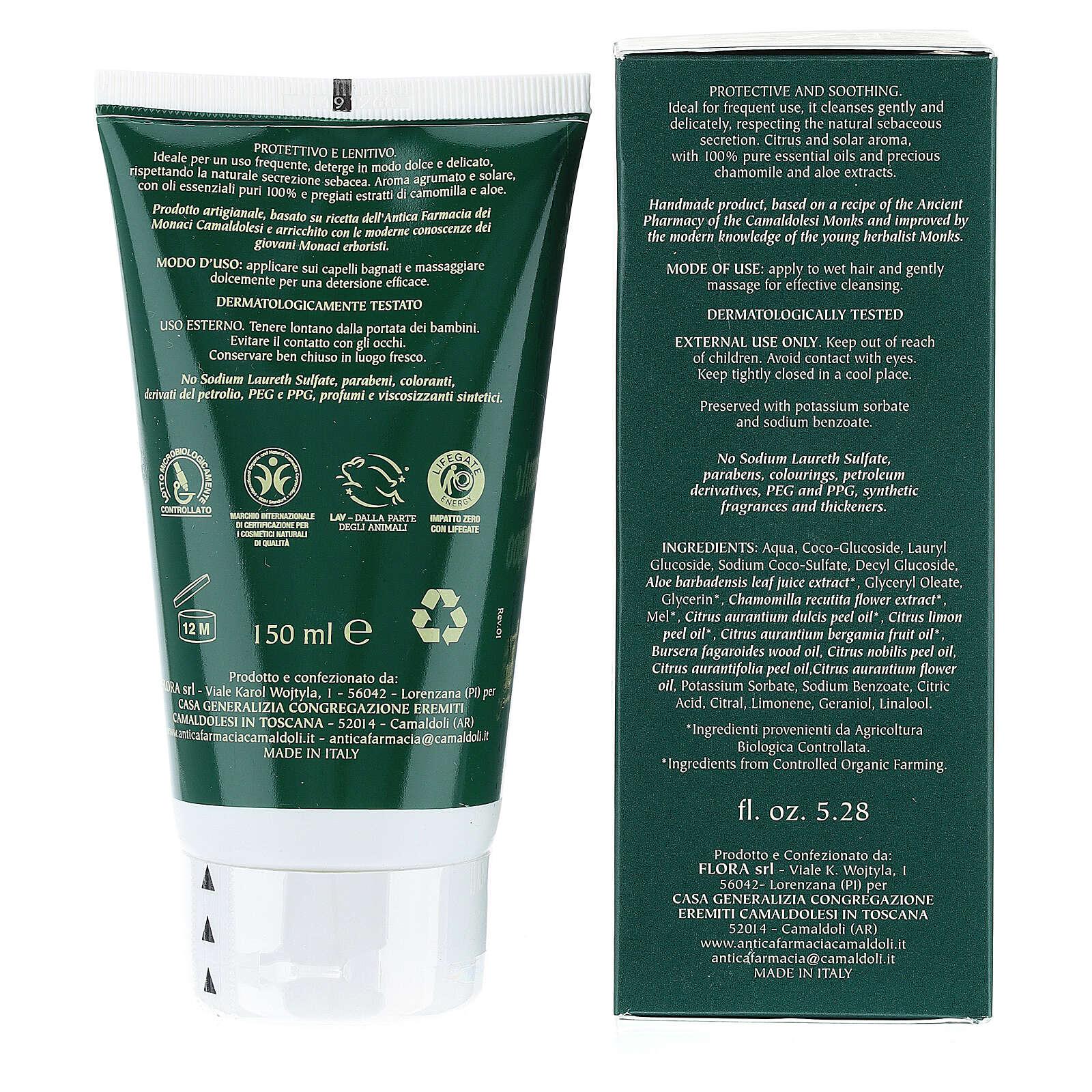 Shampoo Camomilla Bio BDIH 150 ml Camaldoli 4